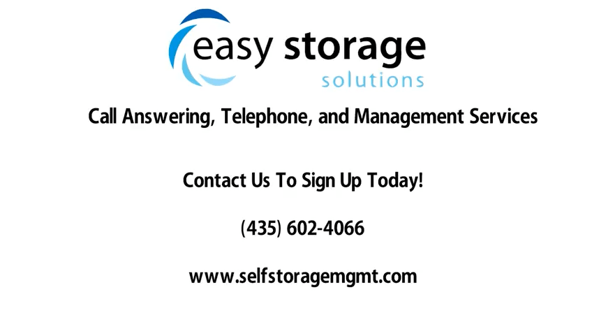 Easy Storage Solutions Call Answering